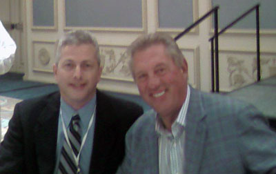 Fred Black (me) meeting John Maxwell!