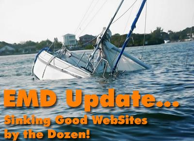 Google EMD Update… Sinking Websites by the Dozen!