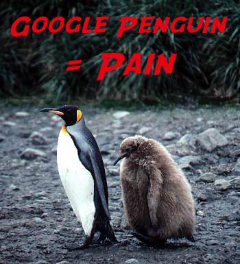 Google Penguin = Pain...