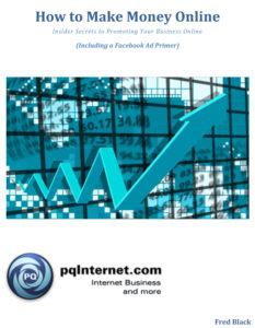How to Make Money Online eBook Fred Black pqInternet.com