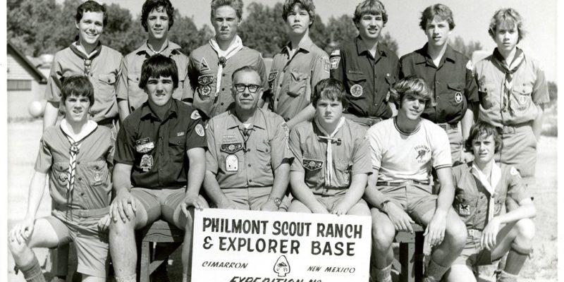 Fred Black(me), Scot Martin Philmont Scout Ranch 1978
