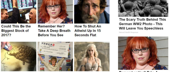 Annoying Clickbait Ads vs. Reputation and Authority Value