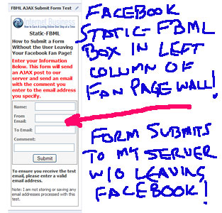 Facebook Fan Pages and Static FBML Part 2