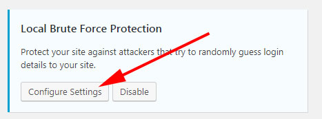 iThemes Security Local Brute Force Protection
