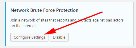iThemes Security Network Brute Force Protection