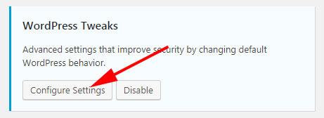 iThemes Security WordPress Tweaks