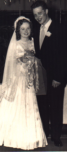 Mom and Pop wedding day!