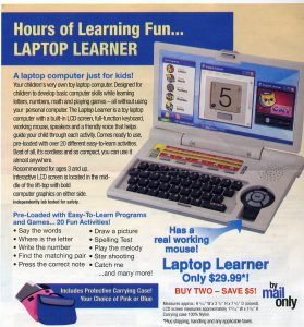 Sears: The Laptop Computer Just For Kids